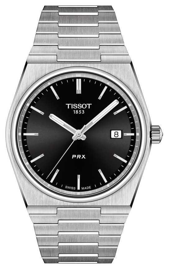 Tissot Men's PRX 40mm Quartz Black Dial T1374101105100