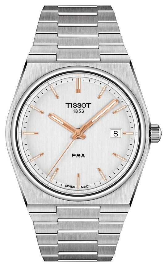 Tissot Men's PRX 40mm Quartz Silver Dial T1374101103100