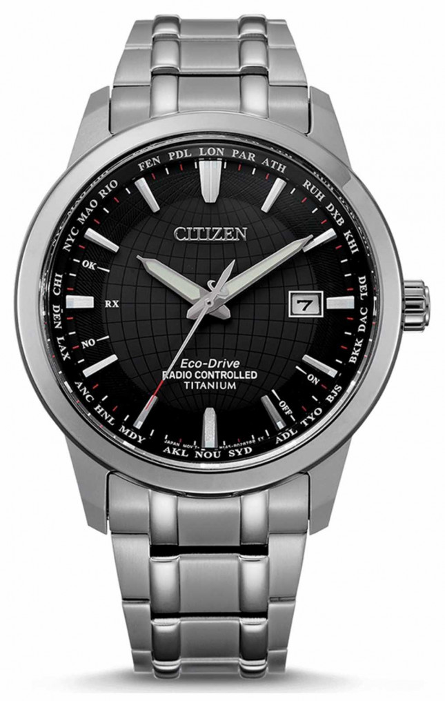 Citizen Men's Eco-Drive Radio Controlled World Perpetual A.T CB0190-84E