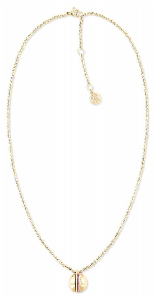 Tommy Hilfiger Single Orb Necklace | Gold Plated 2780492