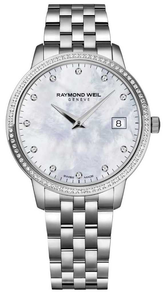 Raymond Weil Toccata | Women's Mother Of Pearl Diamond Dial | 5388-STS-97081