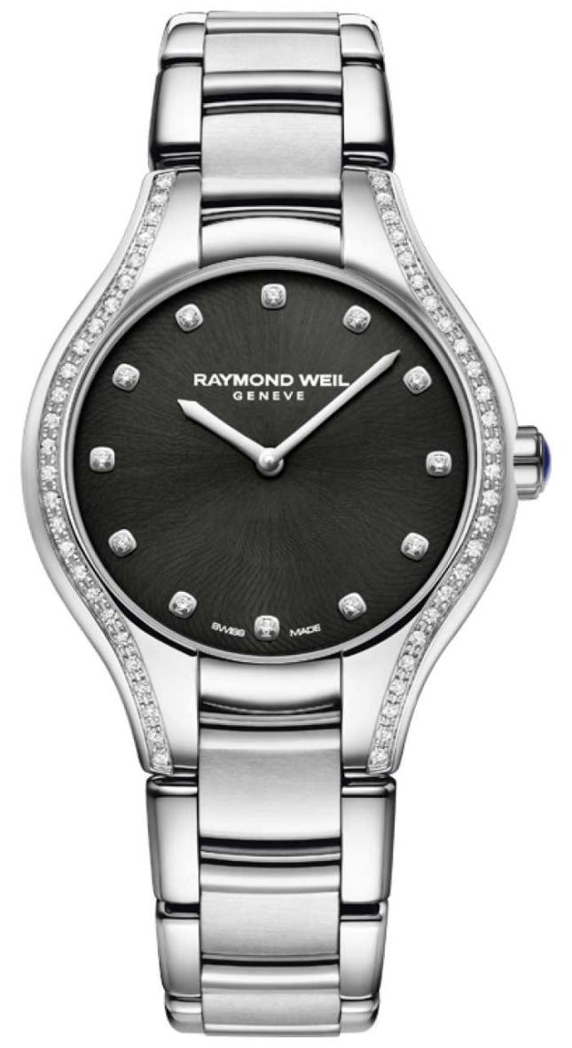 Raymond Weil Noemia   Women's Stainless Steel Bracelet   Diamond Dial 5132-STS-20081