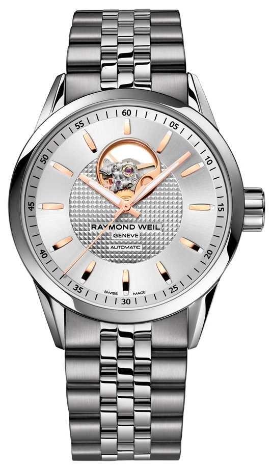 Raymond Weil Freelancer | Men's Stainless Steel Bracelet | Silver Dial 2710-ST5-65021
