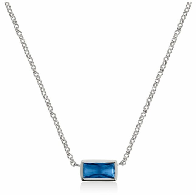 Radley Jewellery Radley Rocks   Stainless Steel Bracelet   Blue Crystal Bracelet RYJ2159S-CARD