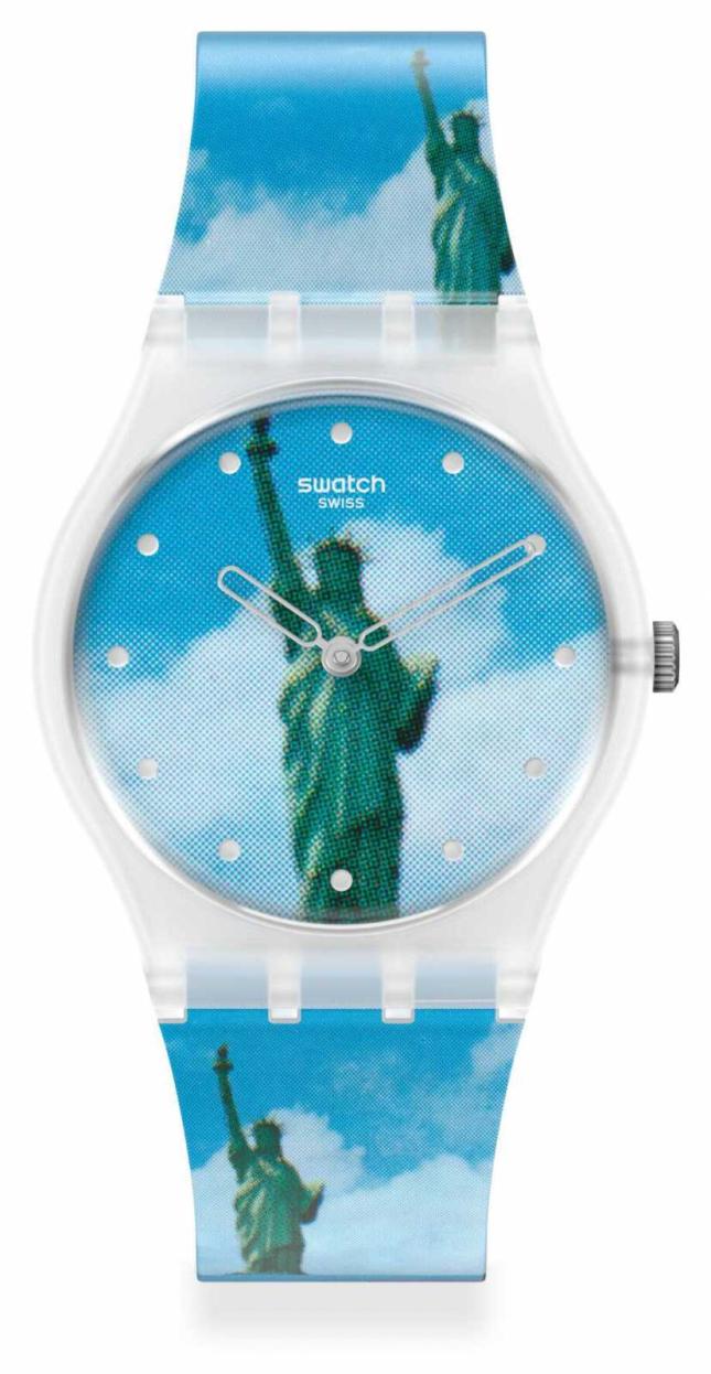 Swatch MoMA | NEW YORK BY TADANORI YOKOO, THE WATCH GZ351