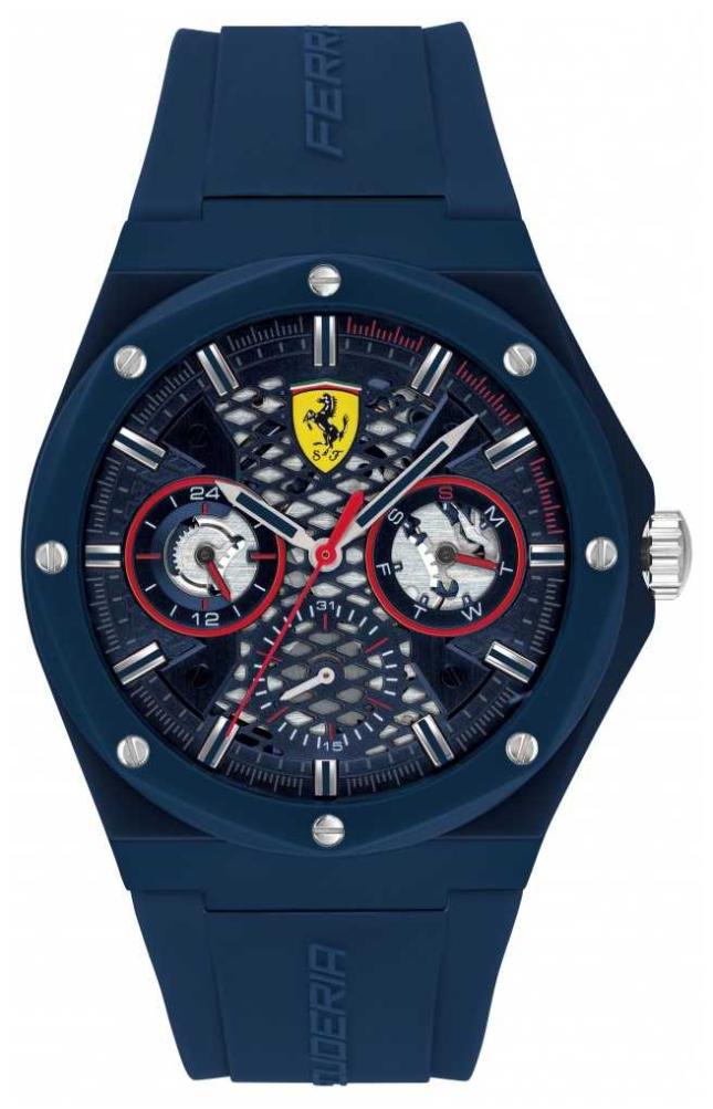 Scuderia Ferrari | Aspire | Blue Silicone Strap | Blue Dial | 0830788