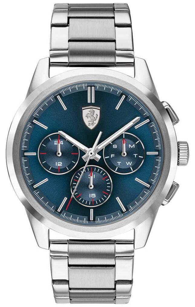 Scuderia Ferrari | Grand Tour | Blue Dial | Stainless Steel Bracelet | 0830804