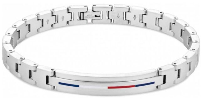 Tommy Hilfiger Men's Iconic ID Stainless Steel Bracelet 2790313