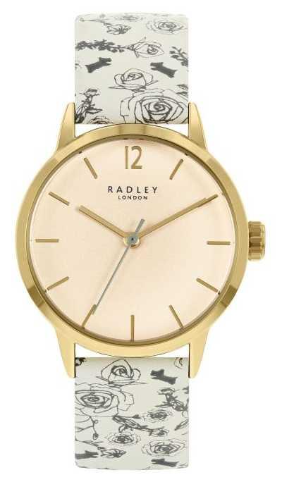 Radley Women's Cream Pattern Leather Strap | Cream Dial RY21248A