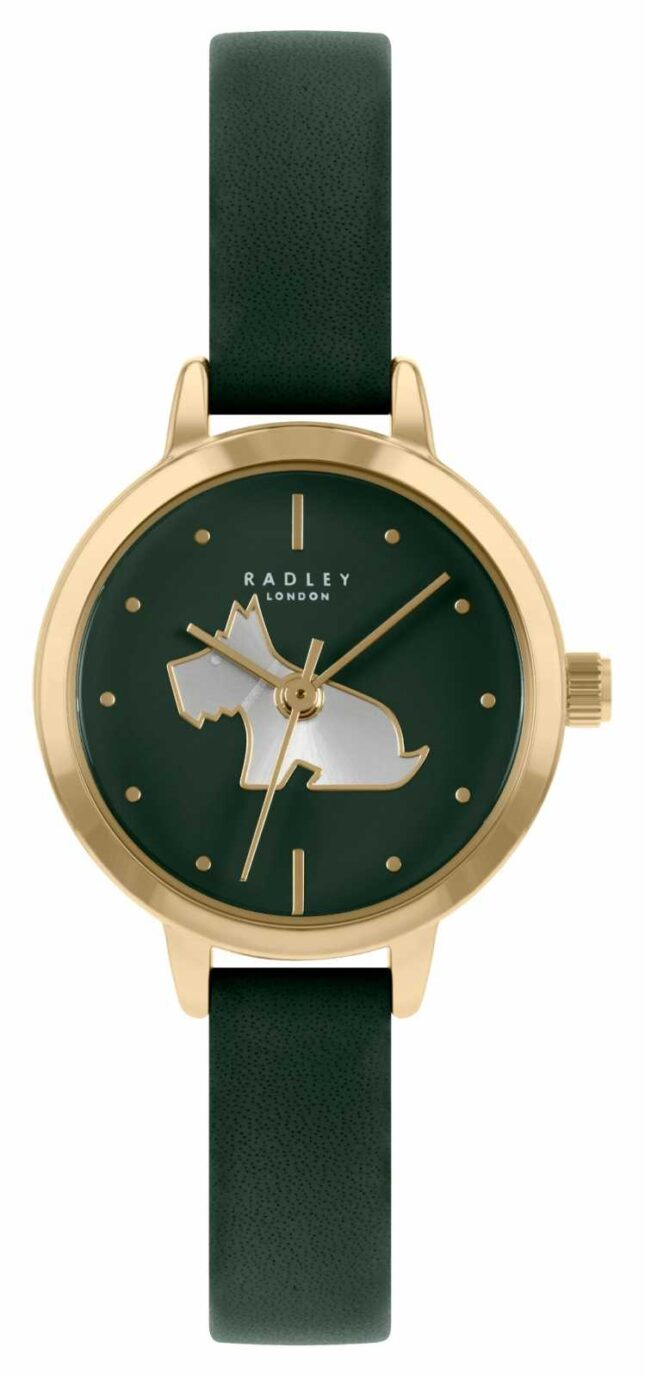 Radley Women's Green Leather Strap | Green Dial RY21256A