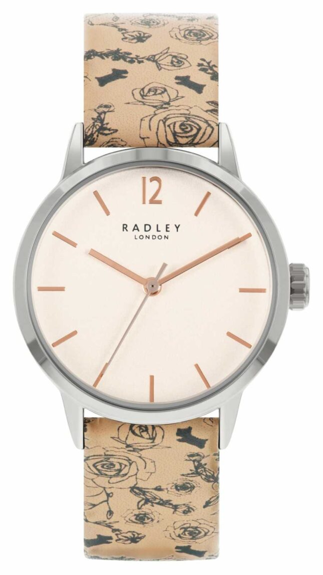Radley | Women's | Beige Pattern Leather Strap | White Dial | RY21245A