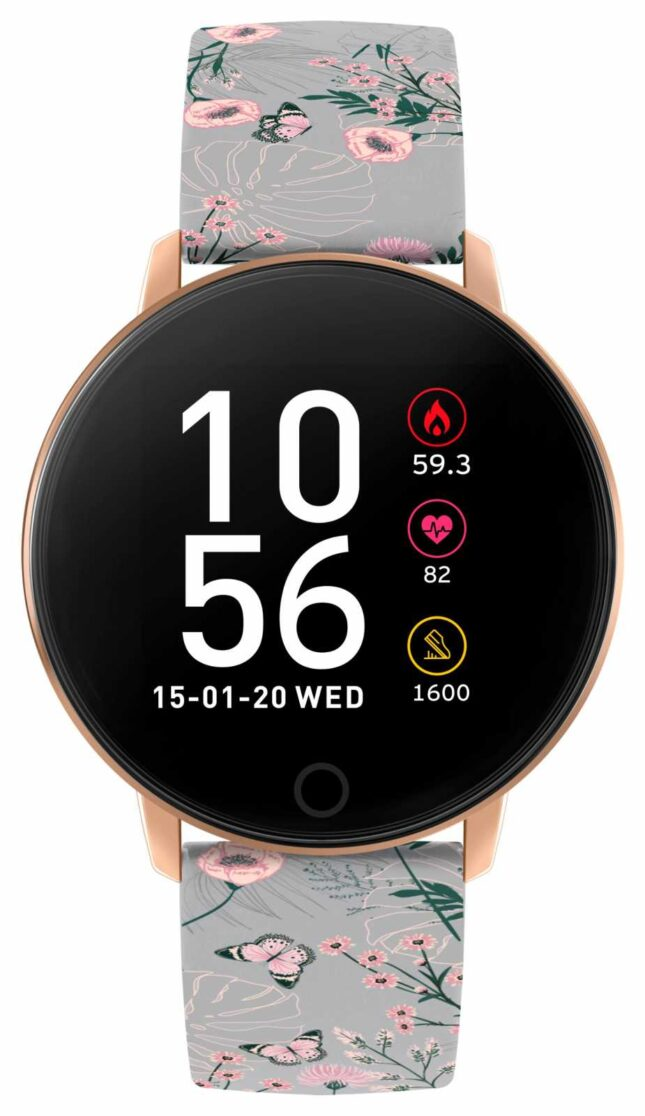 Reflex Active Series 5 Smart Watch | HR Monitor | Colour Touch Screen | Grey Strap RA05-2064