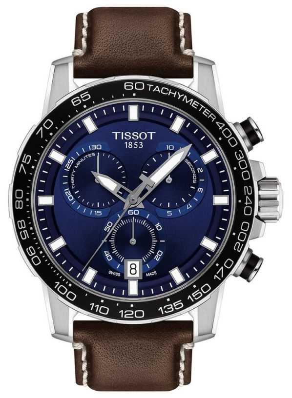 Tissot Men's Supersport Quartz EOL Chrono T1256171604100