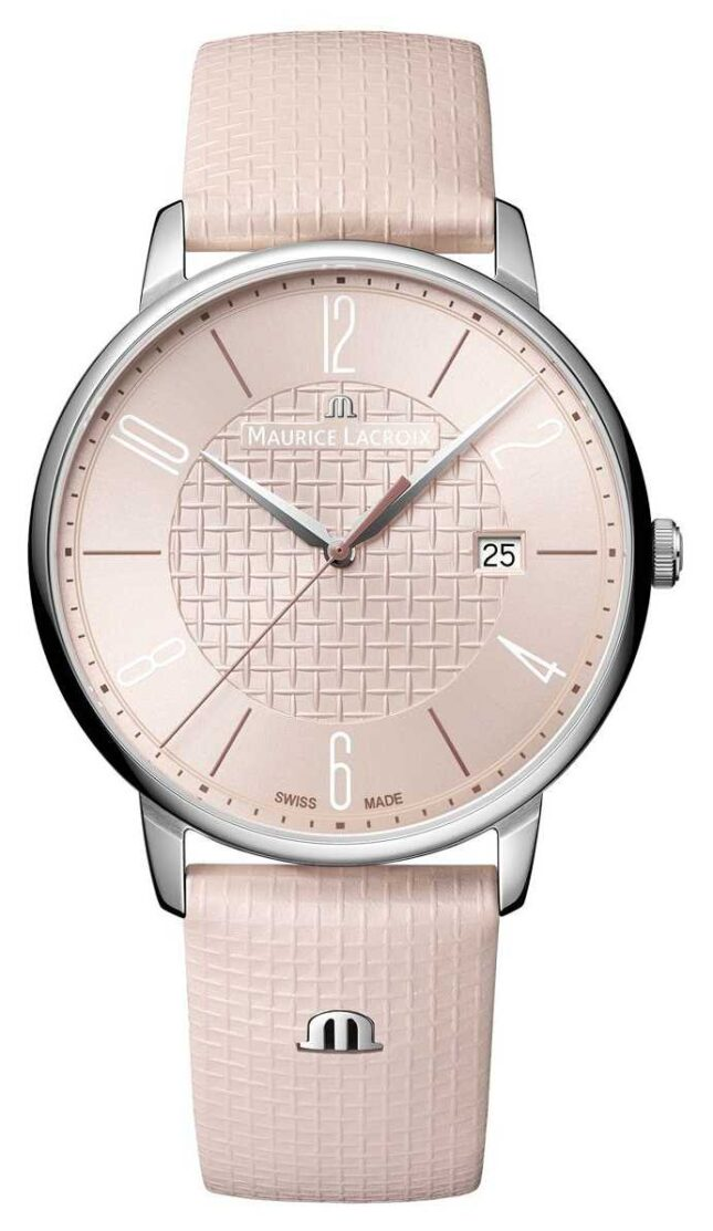 Maurice Lacroix Eliros X Adeline Ziliox Limited Edition Date 40mm Pink EL1118-SS001-520-6