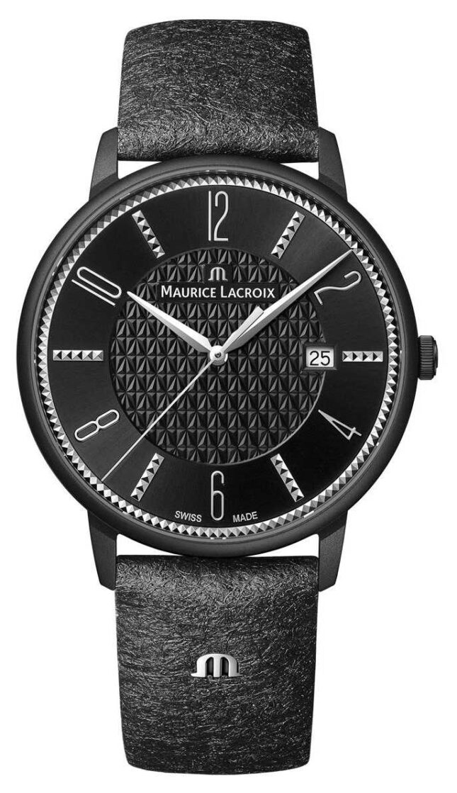Maurice Lacroix Eliros X Adeline Ziliox Limited Edition Date 40mm Black EL1118-PVB01-320-2
