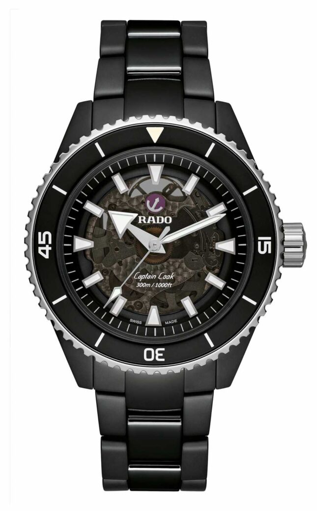 RADO Captain Cook High-Tech Black Ceramic R32127152