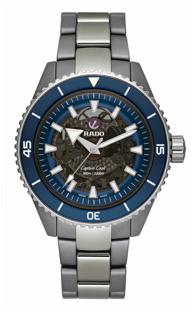 RADO Captain Cook High-Tech Ceramic Blue Dial R32128202