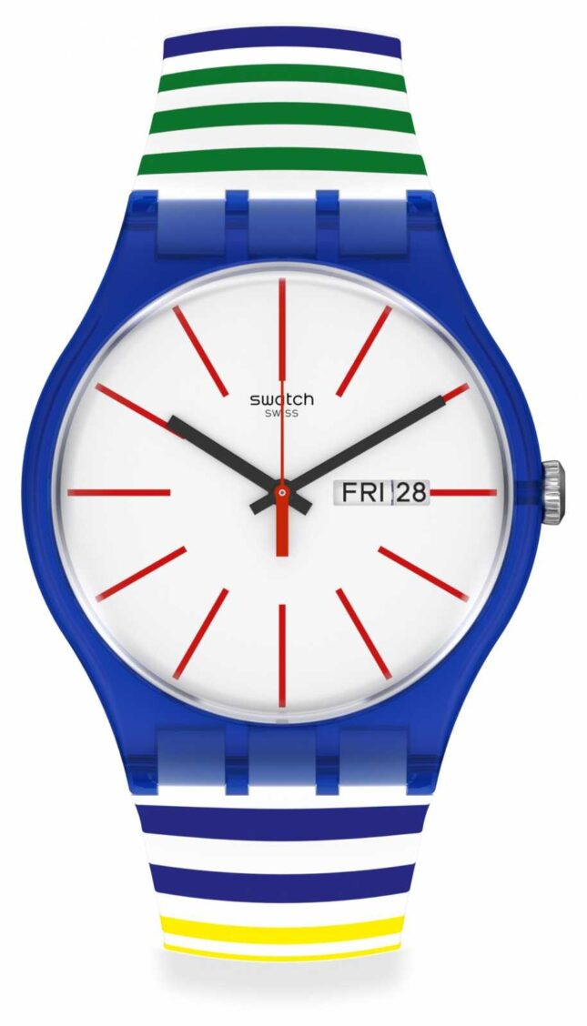 Swatch New Gent Home Stripe Home SUON715