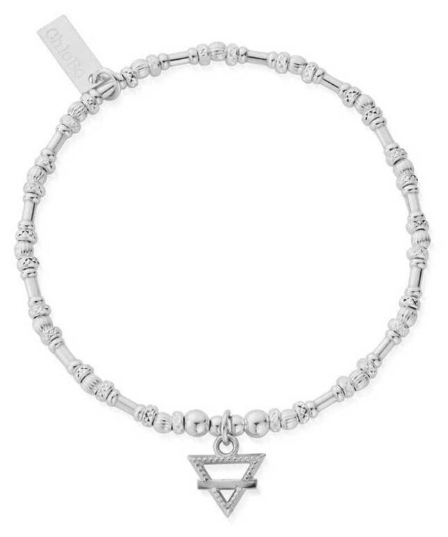 ChloBo Noodle Bead Earth Bracelet | Sterling Silver SBNB3104