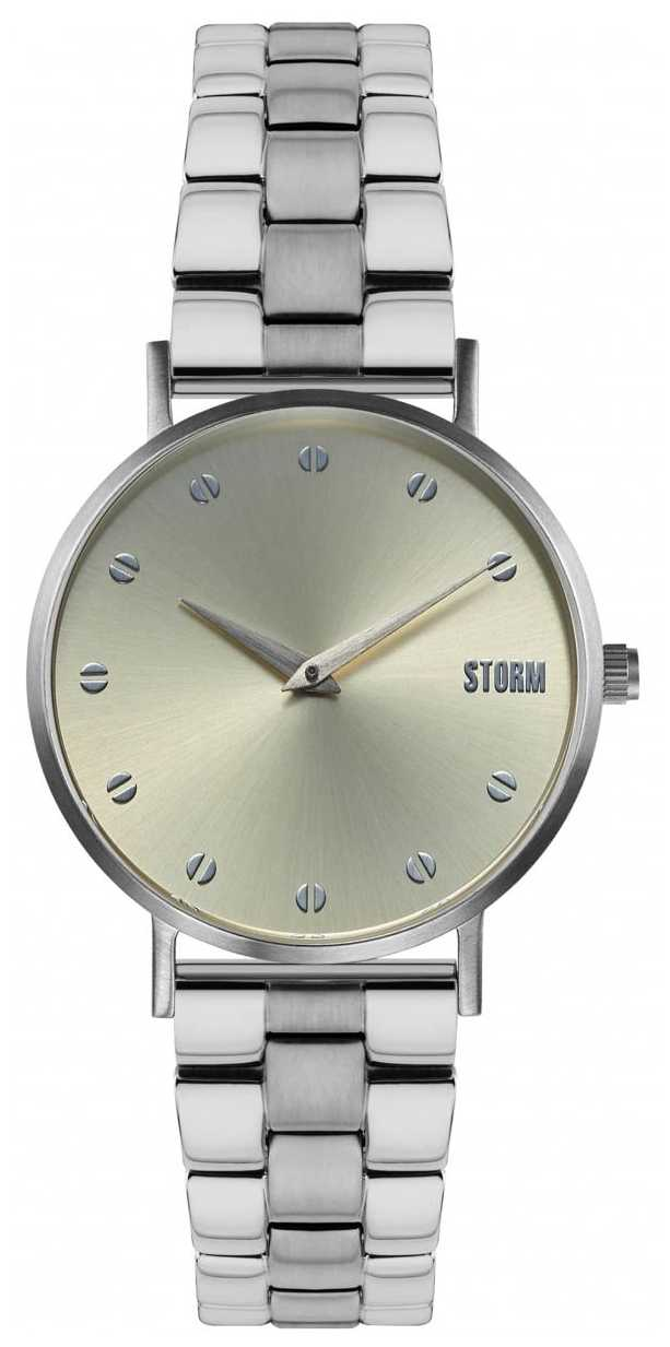 STORM Neoxa Metal Silver Gold | Stainless Steel Silver Bracelet 47493/S