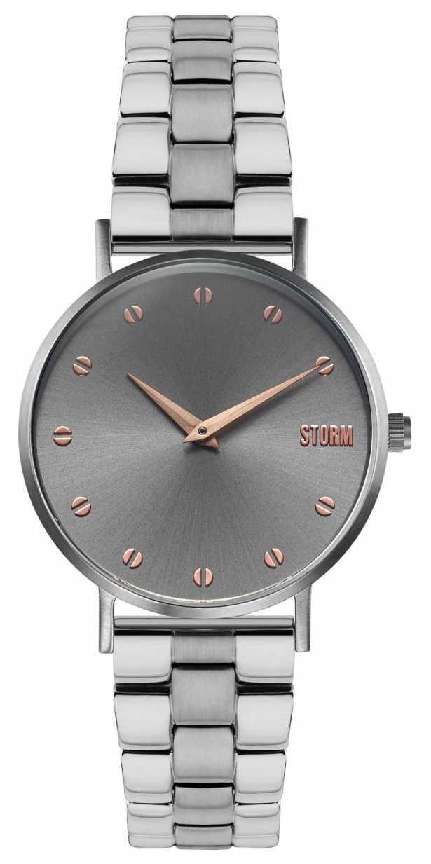 STORM Neoxa Metal Grey | Two-Tone Steel Bracelet 47493/GY