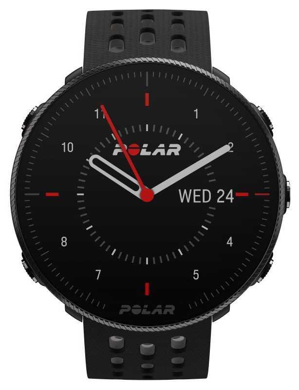 Polar Vantage M2   Black/Grey Silicone Strap 90085160
