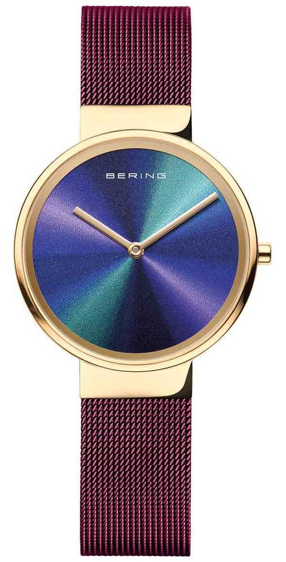 Bering Classic | Women's | Purple Mesh | Multi-Coloured Dial 19031-929