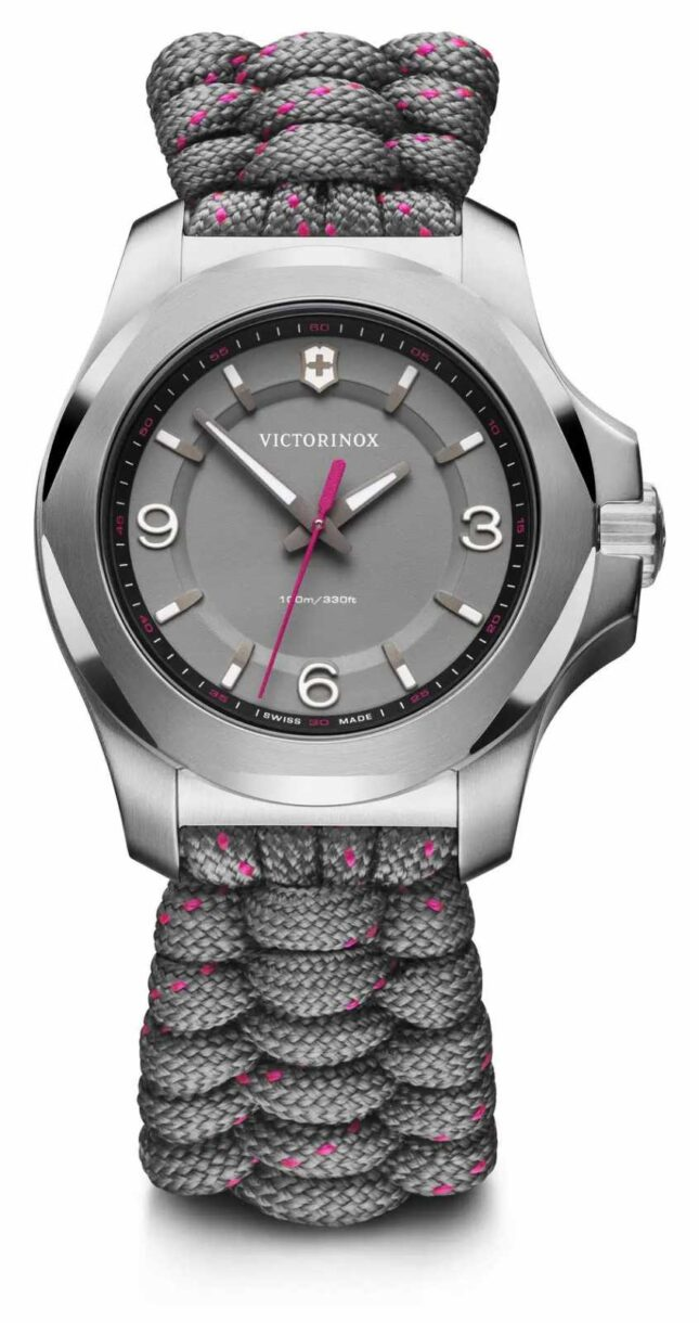 Victorinox Swiss Army | I.N.O.X. V | Women's | Grey Paracord Strap | Grey Dial 241920