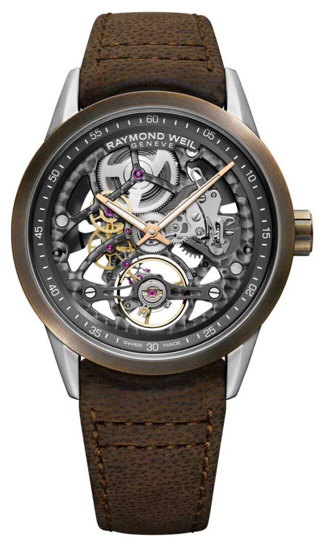 Raymond Weil Freelancer | Bronze | Automatic | Brown Leather Strap 2785-SBC-60000