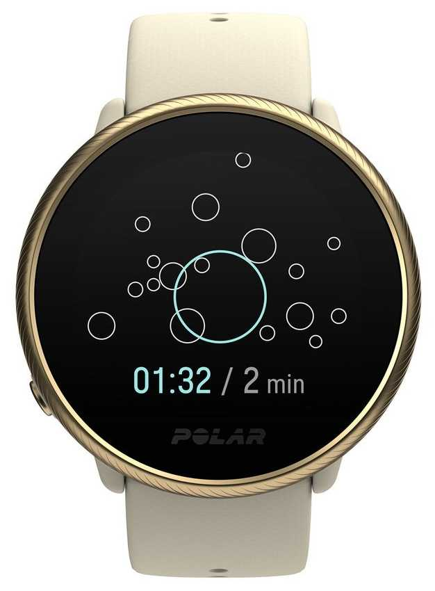Polar Ignite 2 | Gold & Champagne | Activity and HR Tracker | Champagne Silicone | S/L 90085185