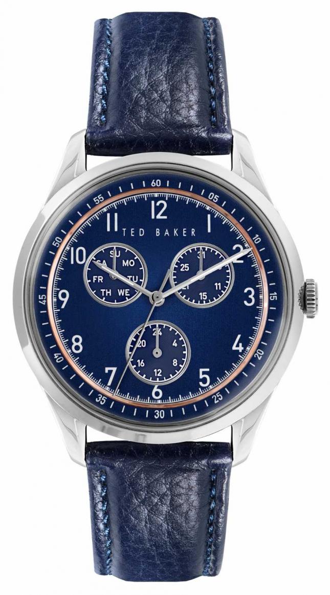 Ted Baker DAQUIRMULTI | Blue Dial | Blue Leather Strap BKPDQS107