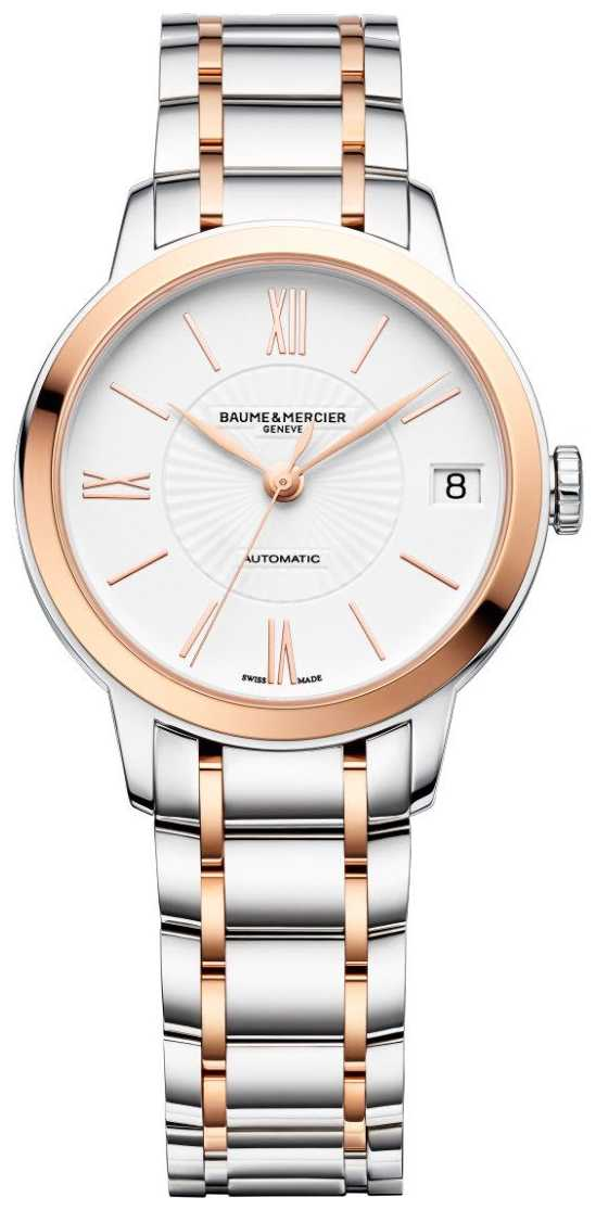 Baume & Mercier Classima | Automatic | White Dial | Two Tone Stainless Steel M0A10269