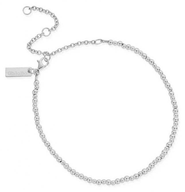 ChloBo Mini Cute Anklet | Sterling Silver SANMC