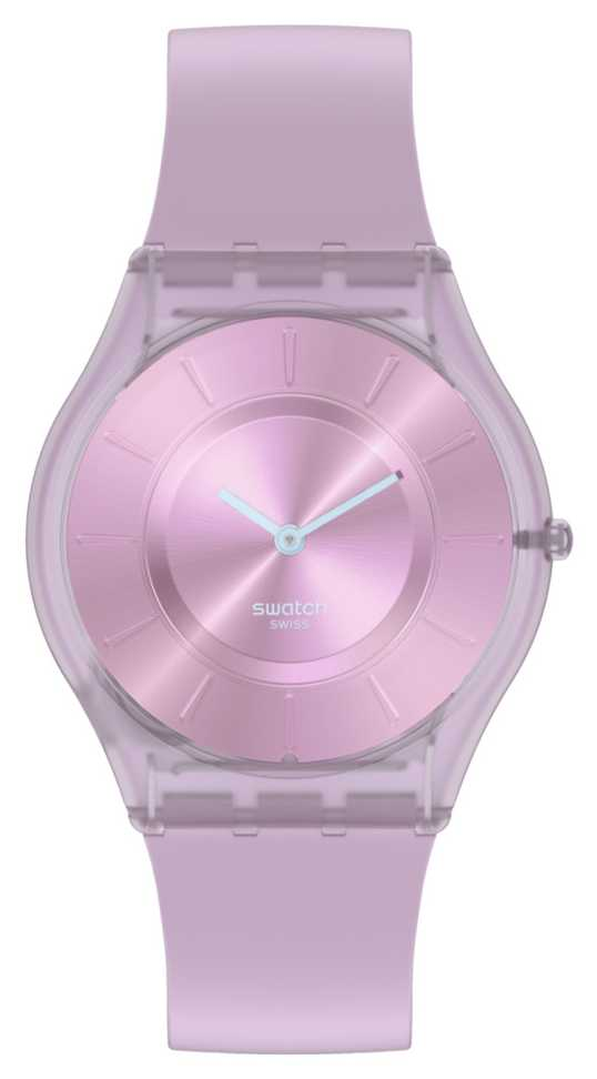 Swatch SWEET PINK | Skin Classic | Silicone Strap SS08V100