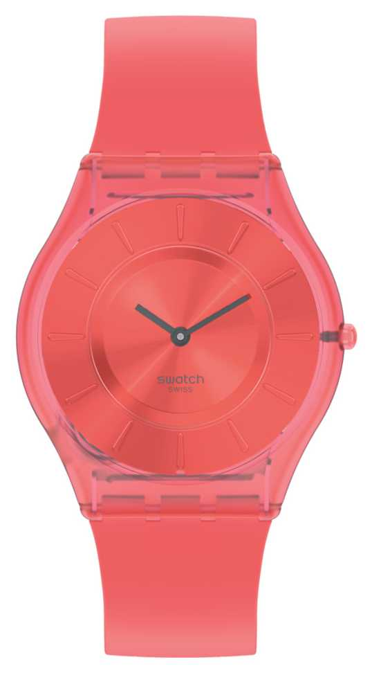 Swatch SWEET CORAL | Skin Classic | Silicone Strap SS08R100
