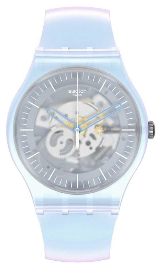 Swatch FLOWERSCREEN | New Gent | Blue Strap SUOK154