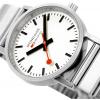 Mondaine Classic Metal 40mm | Stainless Steel Bracelet | White Dial A660.30360.16SBJ