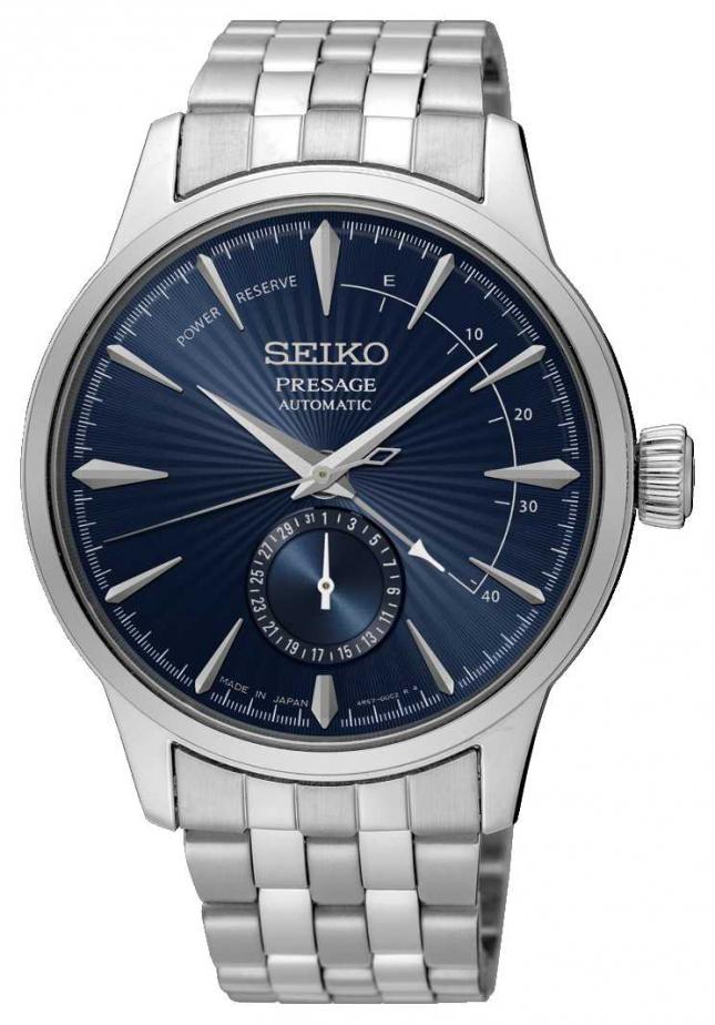 Seiko Presage Cocktail Time 'The Blue Moon' | Stainless Steel Bracelet | Blue Dial SSA347J1