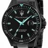 Maserati SFIDA Aqua Edition Black Plated Watch R8853144001
