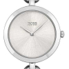 BOSS Womens   New Chain   Silver Dial   Stainless Steel Bracelet 1502590