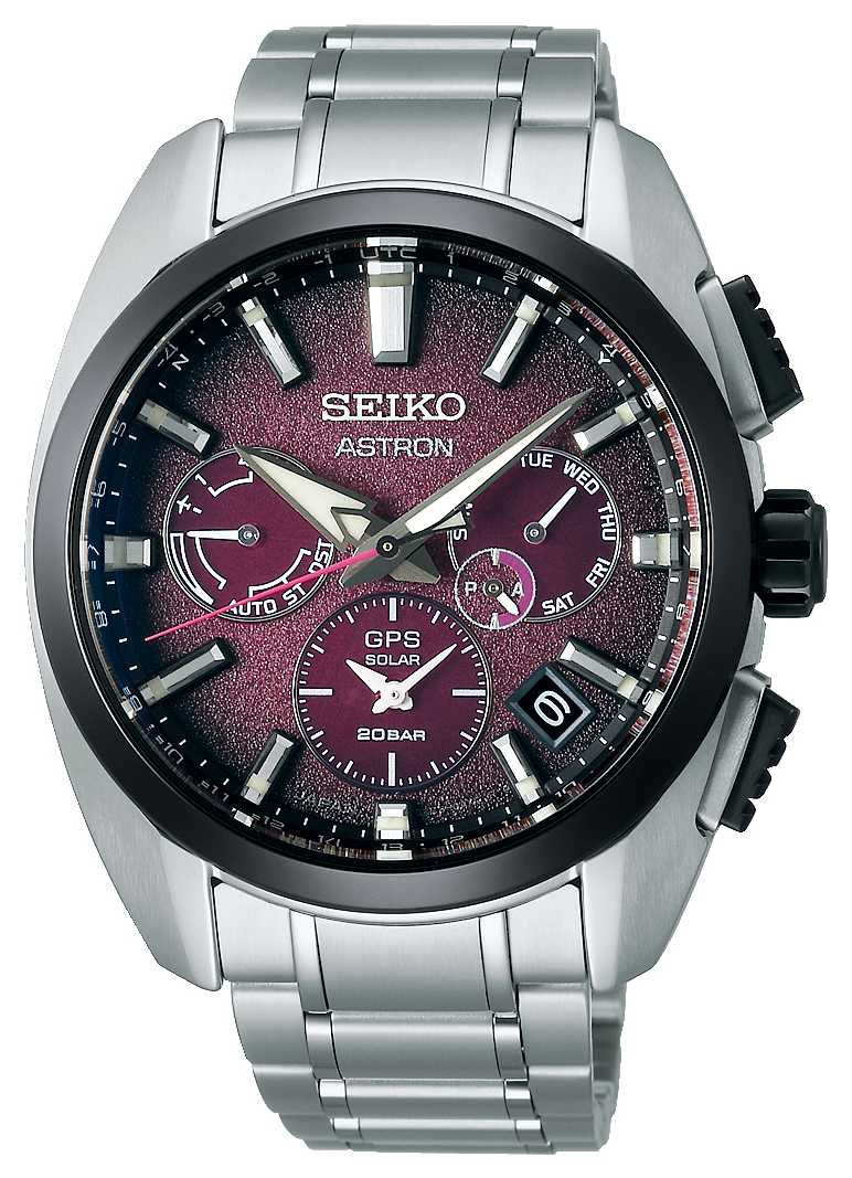 Seiko Astron Global Active TI Limited Edition Purple Dial SSH101J1