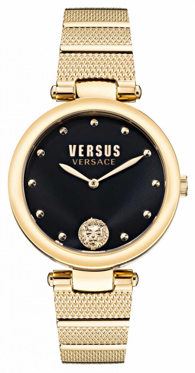 Versus Versace Versus Los Feliz Gold-Plated Steel Watch VSP1G0621