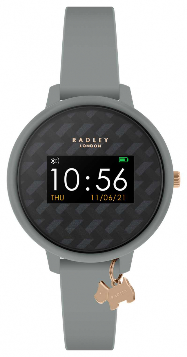 Radley Smart Watch Series 3 Grey Strap & Dog Charm RYS03-2018