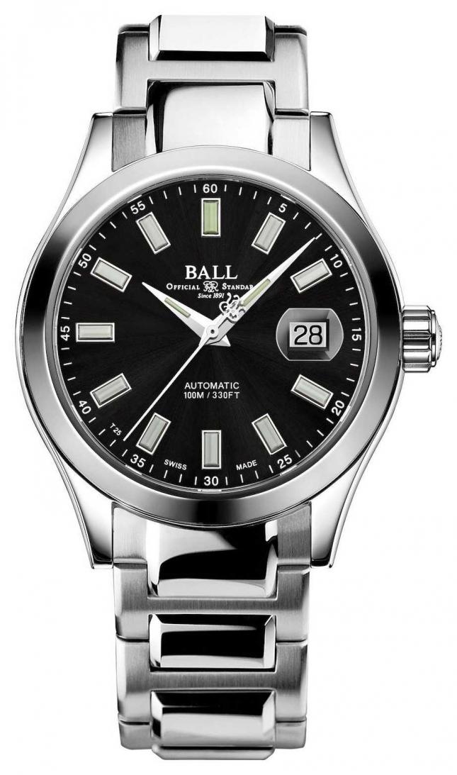 Ball Watch Company Men's   Engineer III   Marvelight   Stainless-steel   Black Dial NM2026C-S10J-BK