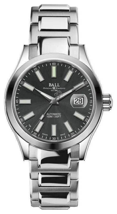 Ball Watch Company Men's   Engineer II Marvelight   Automatic   Stainless-steel   Grey Dial NM2026C-S10J-GY