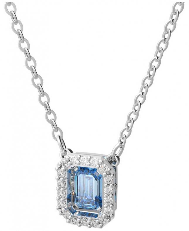 Swarovski Millenia   Necklace   Rhodium Plated   Blue 5614926