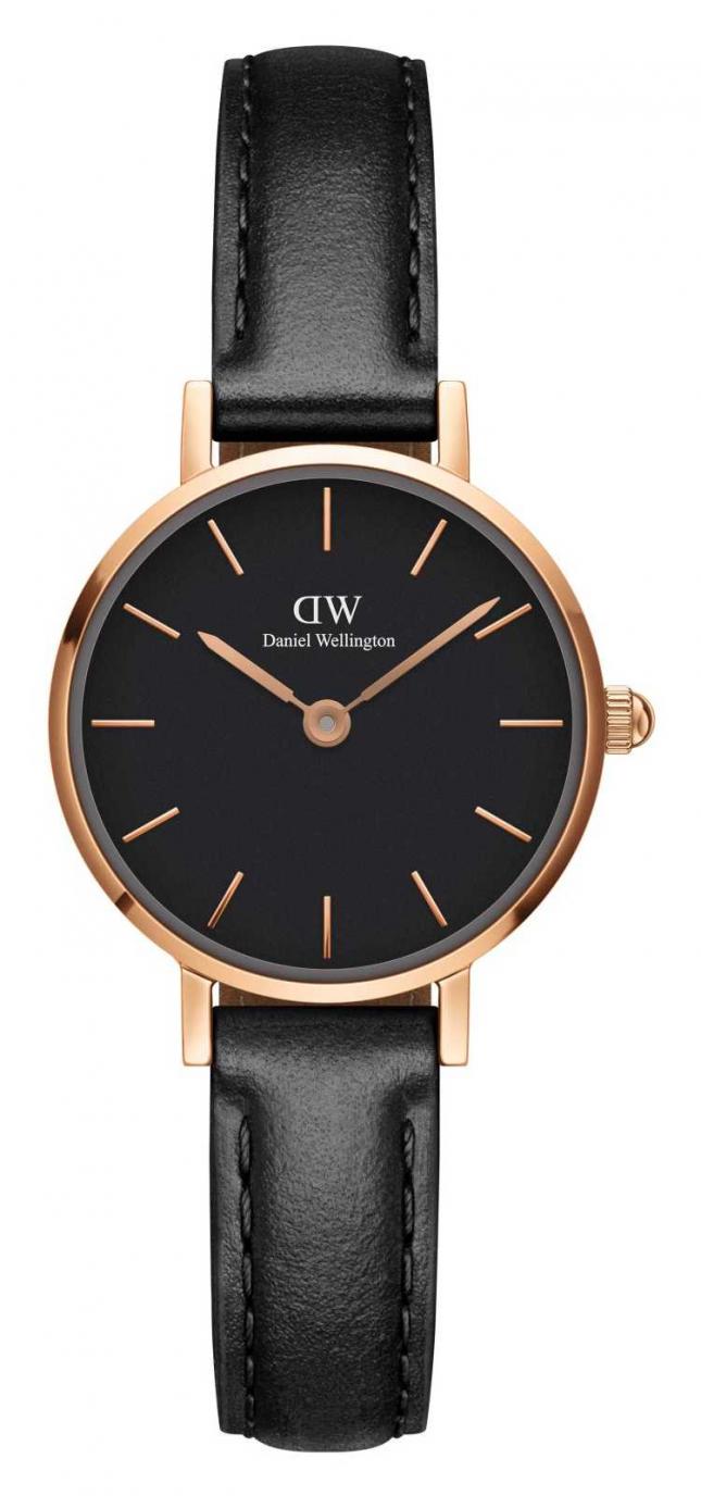 Daniel Wellington Petite Sheffield 24 mm Black Dial Watch DW00100444