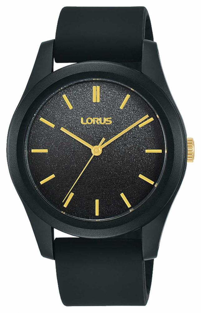 Lorus Women's Sport 36 mm Black Silicone Strap RG267TX9