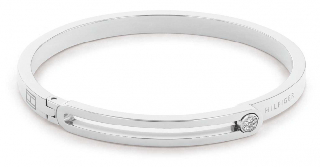 Tommy Hilfiger Minimal Stainless Steel Bangle 2780532