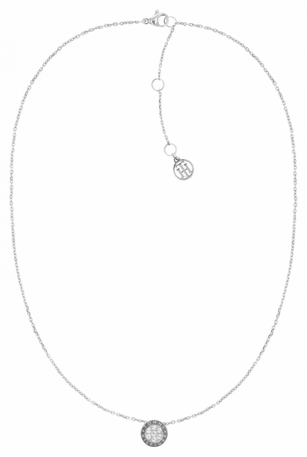 Tommy Hilfiger Crystal Stainless Steel Necklace 2780568